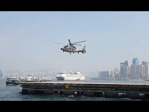 Вертолет взлетает не вращая лопастями