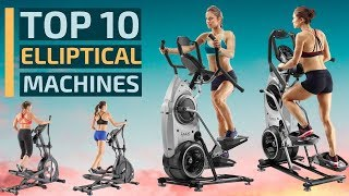 Top 10: Best Elliptical Exercise Trainer Machines In 2020 / Fitness, Cardio, Workout