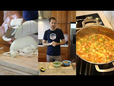 Live SOS Free Cooking Demo - Soup & Salad