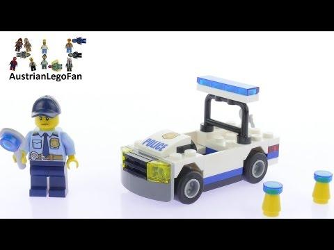 Vidéo LEGO City 30352 : La voiture de police (Polybag)