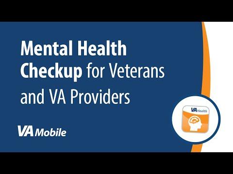 Mental Health Checkup for Veterans & Providers