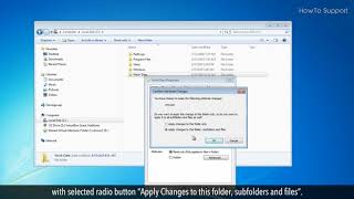 How to Password Protect a Folder in Windows 7