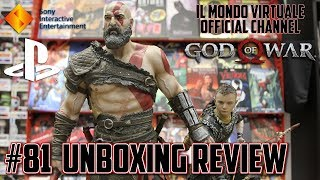 God of War PS4 Statue - UNBOXING REVIEW - Sony Interactive Entertainment