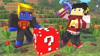 Minecraft: HARDCORE EM DUPLA #2 - TESTANDO A SORTE ‹ AM3NIC ›