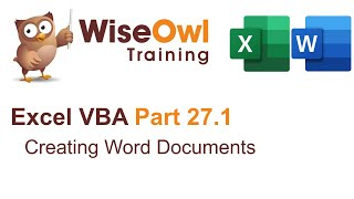 Download Youtube: Excel VBA Introduction Part 27.1 - Creating Word Documents