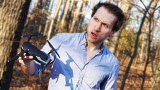 MCJUGGERNUGGETS FINDS CRASHED DRONE ON PROPERTY!?