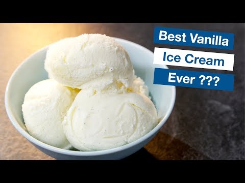 Video Vanilla Custard Ice Cream Recipe - LeGourmetTV