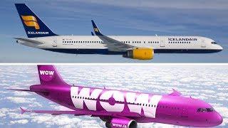 Icelandair Vs WOW Air