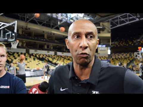 GAME 7 (UCF vs. Missouri) | Pre-Practice Scrum With Head Coach Johnny Dawkins, Players