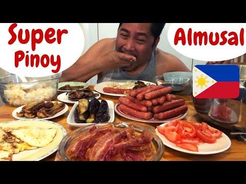 SUPER PINOY Breakfast! Pinoy almusal MUKBANG. Filipino Food.
