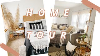 HOME TOUR L Bohemian Decor L Thrifted Decor L Mid Century Modern Furniture