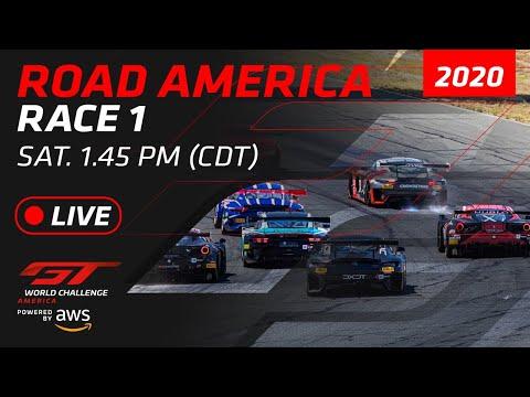 【動画】ブランパンGTワールドチャレンジ・アメリカ(ロード・アメリカ)レース1フルレース動画