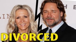 Russell Crowe gets Divorced from Danielle Spencer