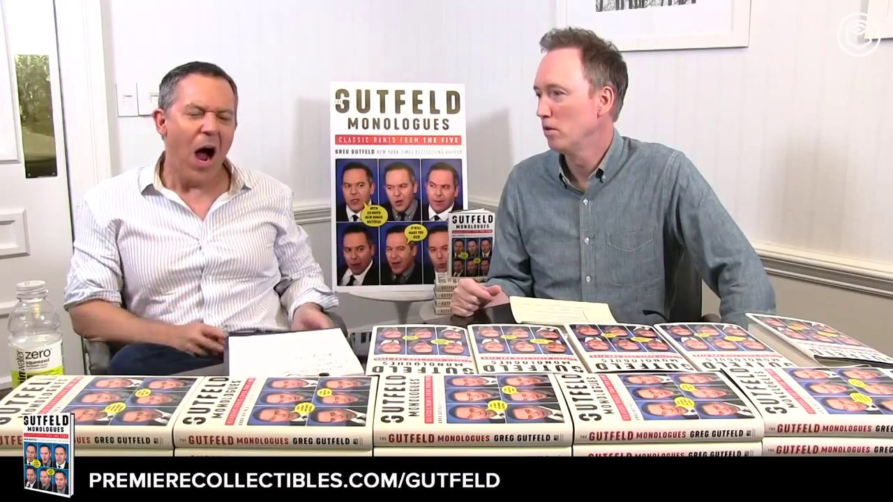 The Gutfeld Monologues: Classic Rants from the Five by Greg Gutfeld