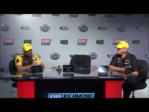 2018 NASCAR Richmond 400 post race Q&A