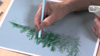 Preview | Colored Pencil Techniques: Easy Landscape Painting With Kristy Kutch