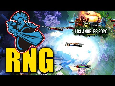 RNG vs NEWBEE (ALL GAMES) - ESL ONE LOS ANGELES 2020 (China) Online DOTA 2