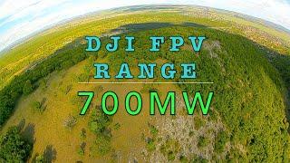 2020-05-01 DJI FPV range test at 700mW