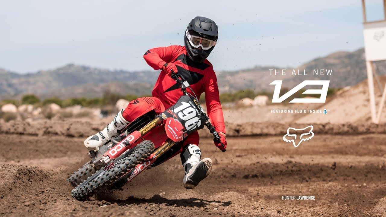 Hunter Lawrence – Fox V3 Helmet