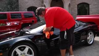Onsite Shine Ferrari 512 Restoration