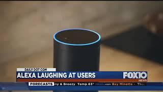 Alexa laughing at users
