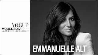 Emmanuelle Alt, Rédactrice En Chef De Vogue Paris | VOGUE MODEL 2017