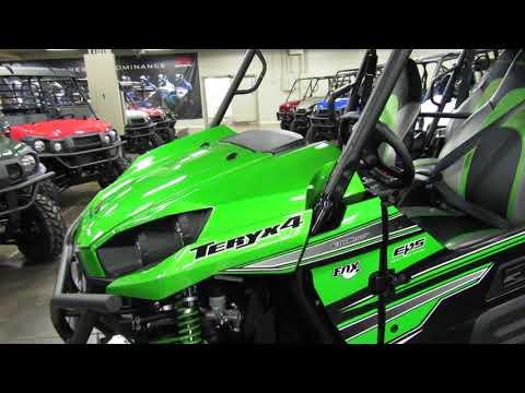 2018 Kawasaki Teryx4 LE in Romney, West Virginia