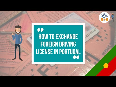 , title : 'How to exchange a foreign driving license in Portugal, online