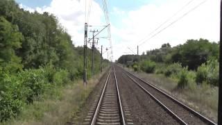 preview picture of video 'Odcinek Włocławek - Toruń Główny z tyłu pociągu TLK Czartoryski'
