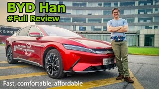 The 500 HP, All-Electric, All-rounder: BYD Han