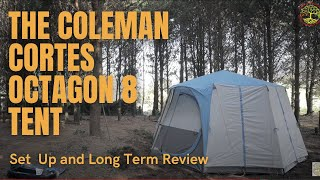 The Coleman Cortes Octagon 8 Tent - How To Set it Up, Long Term Review