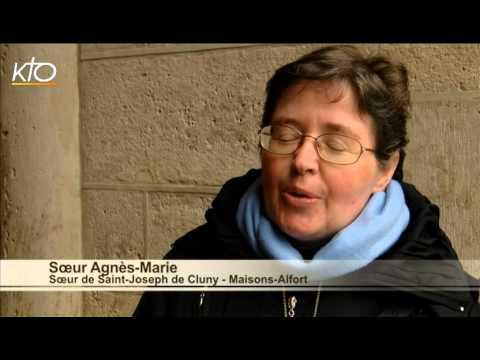 Soeur Agnès-Marie, Soeur de Saint-Joseph de Cluny - Maisons-Alfort