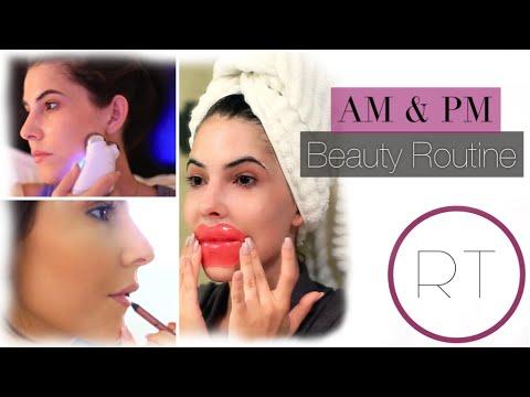 AM & PM Beauty Routine + Fun PM Facial Treatments