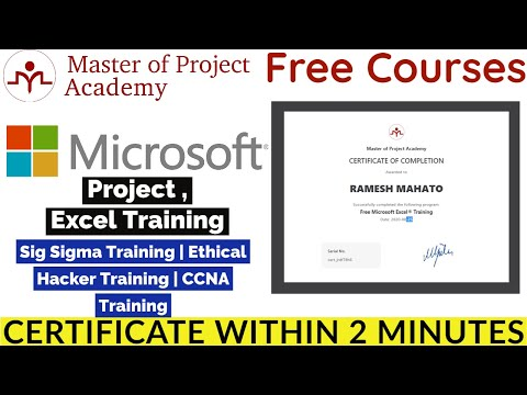 Master of Project Academy Free Online Courses with Certificate ...