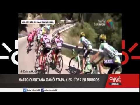 Nairo gana la etapa y es líder de la vuelta Burgos.