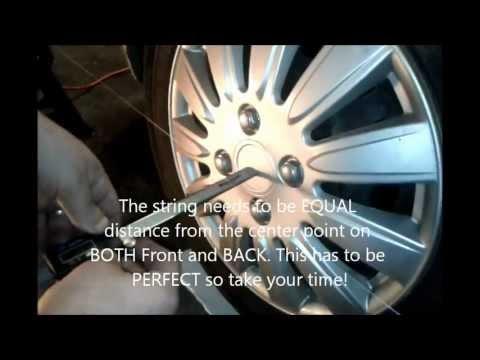 2009 Hyundai Accent wheel alignment