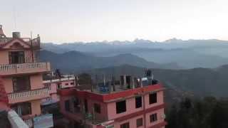 preview picture of video 'Panorama from Shivapuri Nagarjun National Park in Nepal'