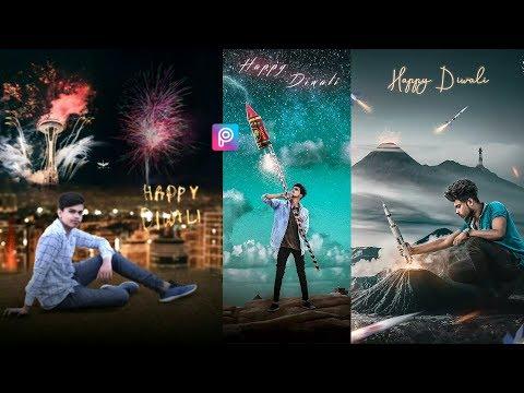 PicsArt - Happy Diwali Photo Editing || PicsArt editing Tutorial || TANVEER EDITZ