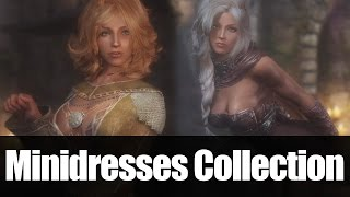 Skyrim Mods - Minidresses Collection UNP [4k/HD]
