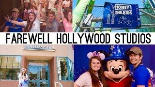 Farewell Hollywood Studios   Feb-March Disney World Vlogs   Disney At Heart