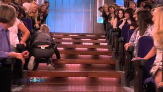 Jim Carrey Is On The Show Monday, Look At How He Made His Entrance...