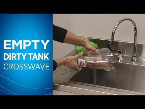 CrossWave Empty Dirty Water Tank and Filter Care | 1785