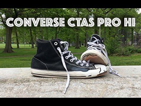 Converse CTAS Pro Hi Wear Test + Review