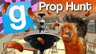 GMod Prop Hunt #1 - Sausage Fountain