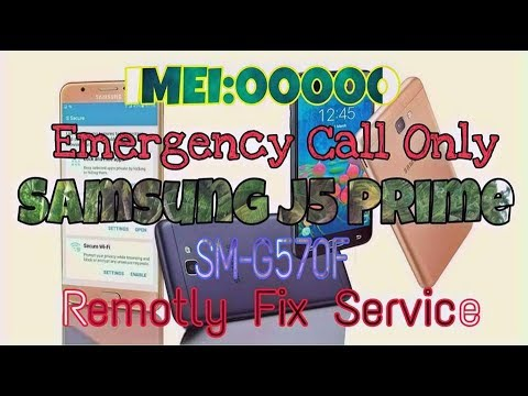 G532F_G IMEI REPAIR SOLUTION || Emergency Call Only || No