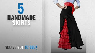 Top 10 Handmade Skirts [2018]: Womens Flamenco Skirt Or Dress - Express Production Time!