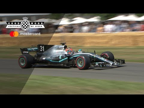 Ocon's wild Mercedes F1 run
