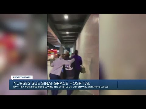 Ex-Sinai Grace nurses file suit, allege hospital understaffing 'resulted in the death of patients'