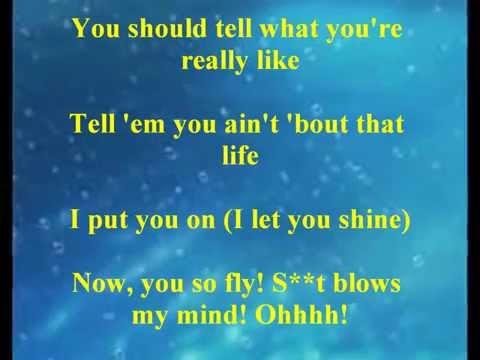 Fantasia - Without Me with lyrics (HD)