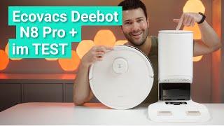 Ecovacs Deebot N8 Pro + im Test - Der kleine T8 mit Oberklassemerkmalen!